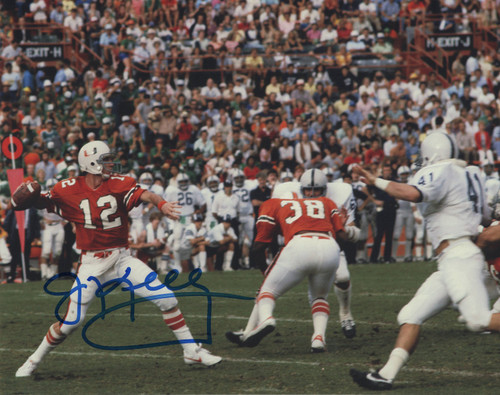 Jim Kelly Miami Hurricanes 8-1 8x10 Autographed Photo - Certified Authentic