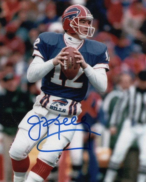 Jim Kelly Buffalo Bills 8-1 8x10 Autographed Photo - Certified Authentic