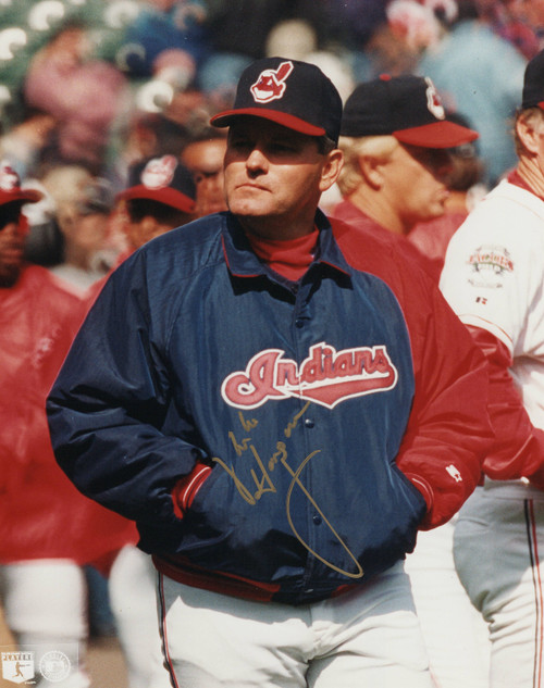 Mike Hargrove Cleveland Indians 8-1 8x10 Autographed Photo - Certified Authentic