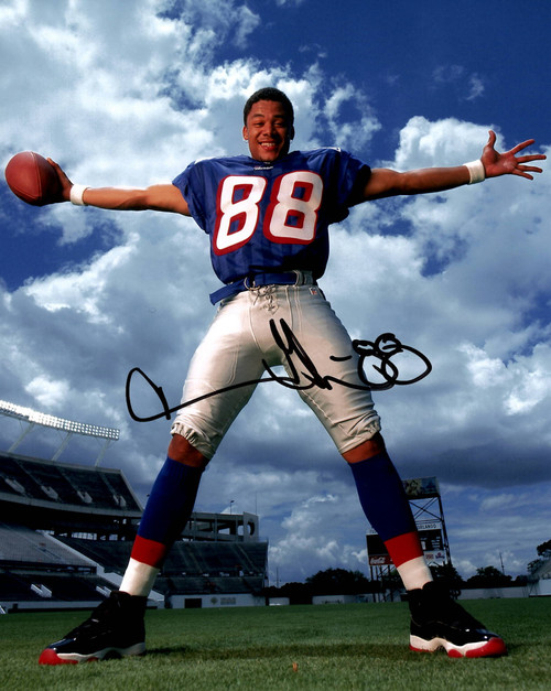 Terry Glenn New England Patriots 8-1 8x10 Autographed Photo - Certified Authentic