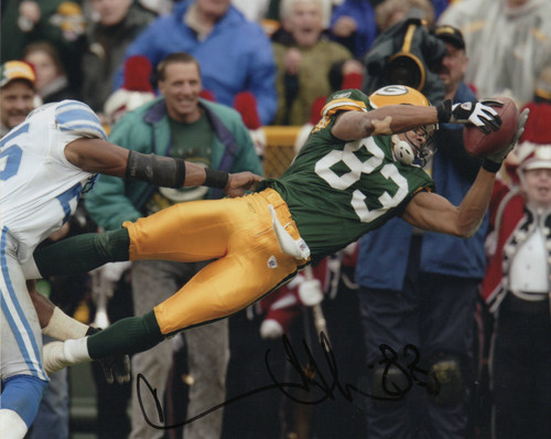 Terry Glenn Green Bay Packers 8-1 8x10 Autographed Photo - Certified Authentic