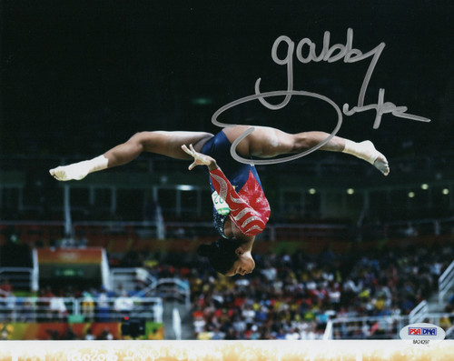 Gabby Douglas Team USA Gymnastics 8-1 8x10 Autographed Photo - Certified Authentic