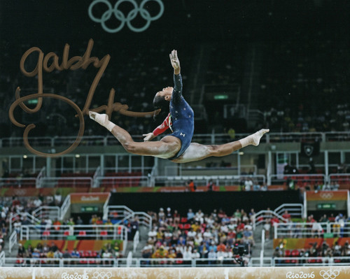 Gabby Douglas Team USA Gymnastics 8-3 8x10 Autographed Photo - Certified Authentic