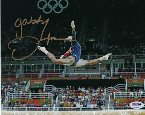 Gabby Douglas Team USA Gymnastics 8-5 8x10 Autographed Photo - PSA Authentic