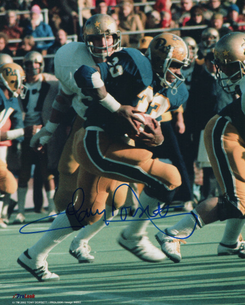 Tony Dorsett Pittsburgh Panthers 8-1 8x10 Autographed Photo - Certified Authentic