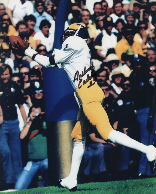 Anthony Carter Michigan Wolverines 8-2 8x10 Autographed Photo - Certified Authentic