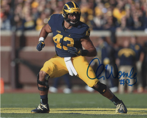 Chris Wormley Michigan Wolverines 8-1 8x10 Autographed Photo - Certified Authentic