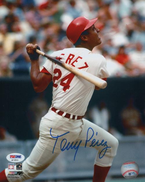Tony Perez Cincinnati Reds 8-1 8x10 Autographed Photo - PSA Authentic