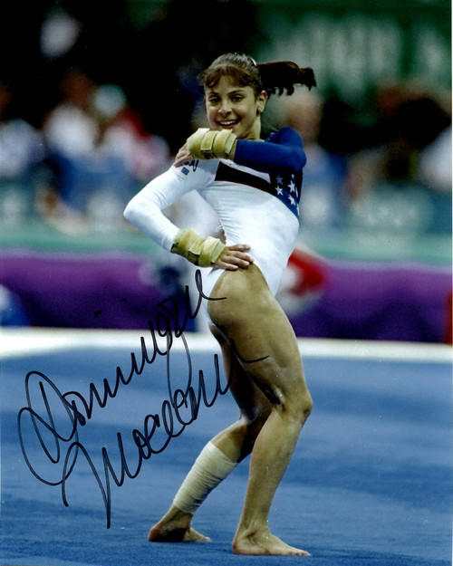 Dominique Moceanu Team USA Gymnastics 8-1 8x10 Autographed Photo - Certified Authentic