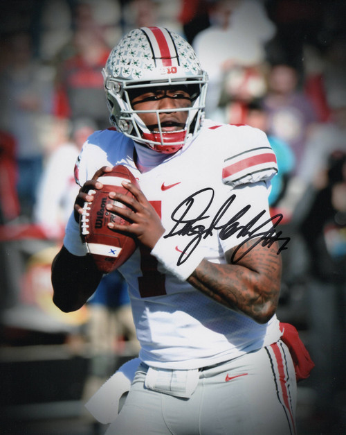 Dwayne Haskins Ohio State Buckeyes 8-3 8x10 Autographed Photo - Certified Authentic