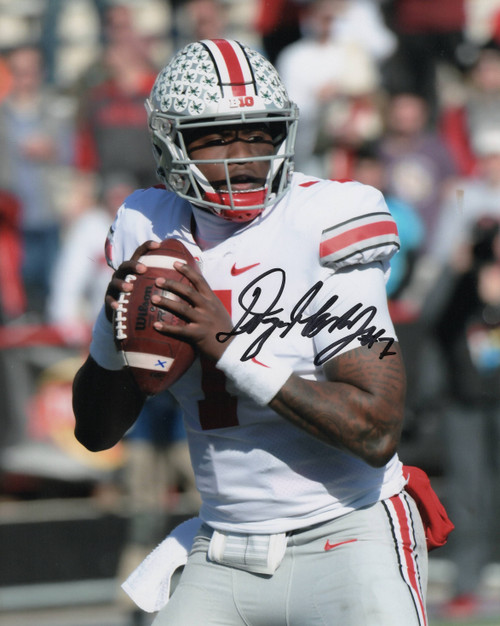 Dwayne Haskins Ohio State Buckeyes 8-4 8x10 Autographed Photo - Certified Authentic