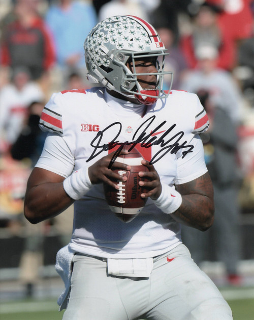 Dwayne Haskins Ohio State Buckeyes 8-7 8x10 Autographed Photo - Certified Authentic