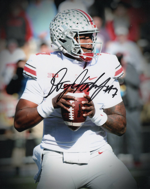 Dwayne Haskins Ohio State Buckeyes 8-9 8x10 Autographed Photo - Certified Authentic