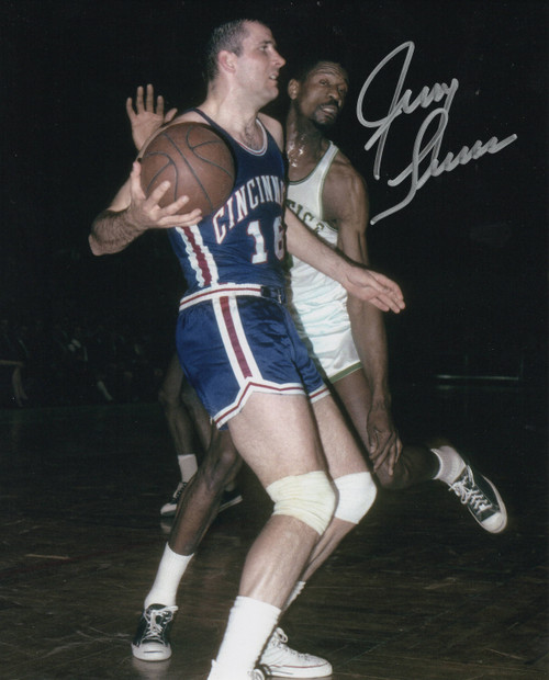 Jerry Lucas Cincinnati Royals 8-1 8x10 Autographed Photo - Certified Authentic