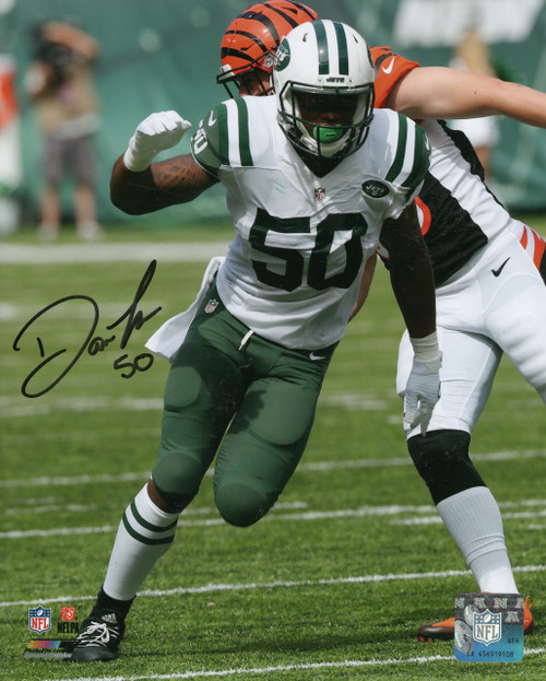 Darron Lee New York Jets 8-1 8x10 Autographed Photo - Certified Authentic