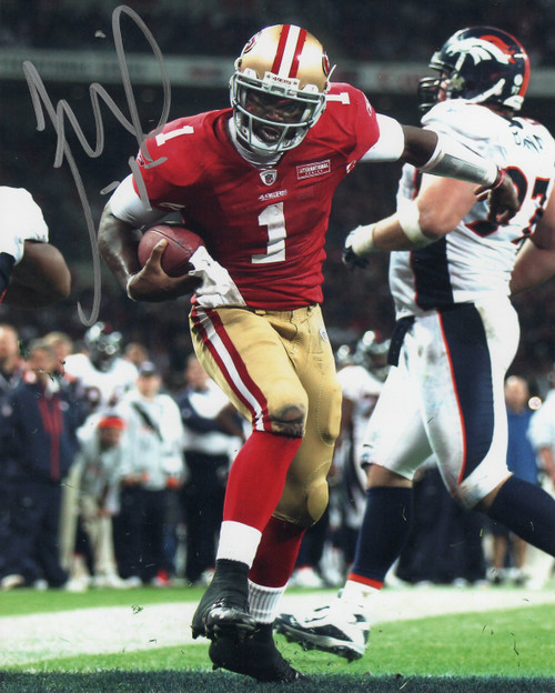 Troy Smith San Francisco 49ers 8-1 8x10 Autographed Photo - Certified Authentic