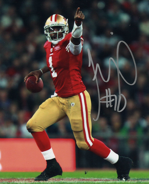Troy Smith San Francisco 49ers 8-2 8x10 Autographed Photo - Certified Authentic