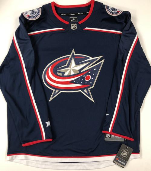Zach Werenski Columbus Blue Jackets Autographed Jersey - PSA Authentic