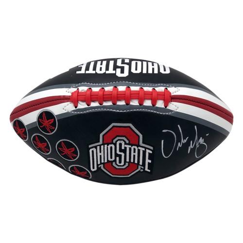 Urban Meyer Ohio State Buckeyes Autographed Black Football - PSA Authentic