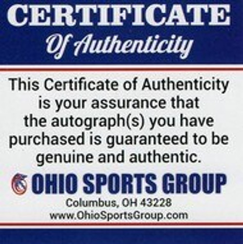 Urban Meyer Ohio State Buckeyes Autographed Black Football - Certified Authentic
