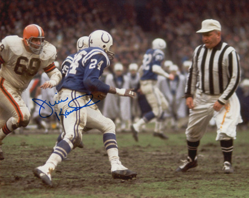 Jim Kanicki Browns 8-1 8x10 Autographed Photo - Certified Authentic