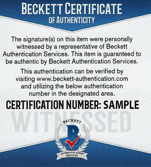 Baker Mayfield & Odell Beckham Jr. Cleveland Browns Autographed Replica Helmet - Beckett & JSA Authentic