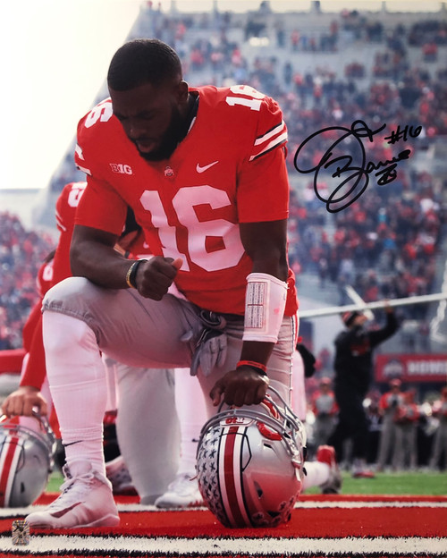 JT Barrett Ohio State Buckeyes 16-12 16x20 Autographed Photo - Certified Authentic