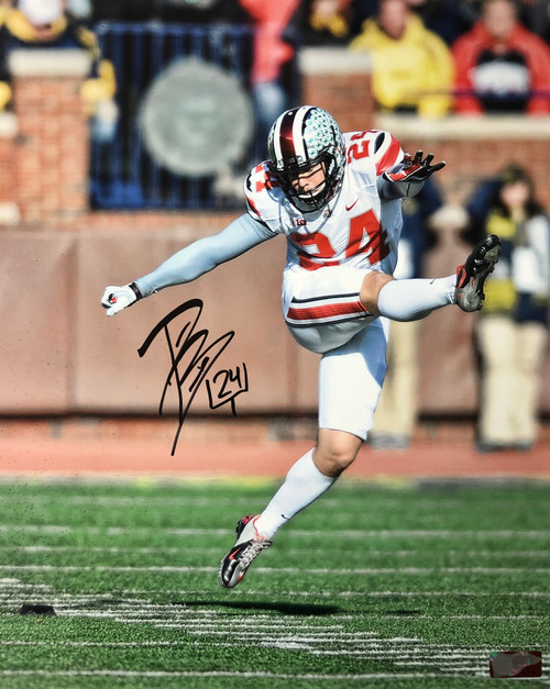 Drew Basil Ohio State Buckeyes 16-1 16x20 Autographed Photo - Certified Authentic