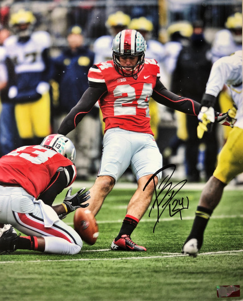 Drew Basil Ohio State Buckeyes 16-2 16x20 Autographed Photo - Certified Authentic