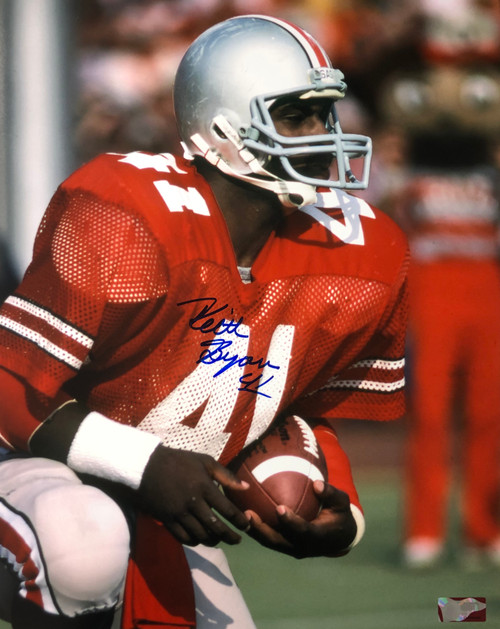 Keith Byars Ohio State Buckeyes 16-2 16x20 Autographed Photo - Certified Authentic