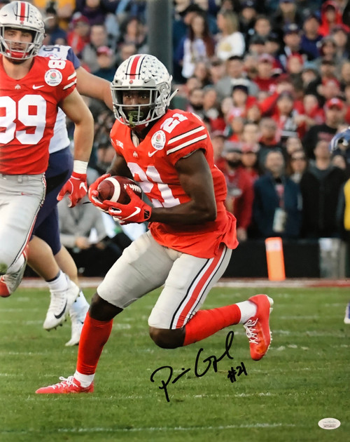 Parris Campbell Ohio State Buckeyes 16-3 16x20 Autographed Photo - Certified Authentic