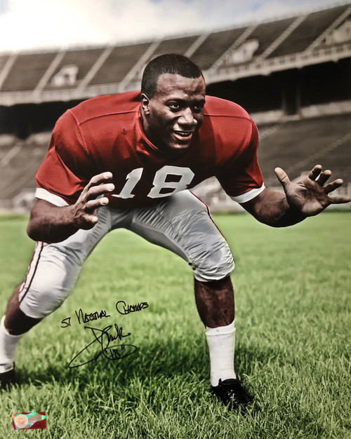 Don Clark Ohio State Buckeyes 16-1 16x20 Autographed Photo - Certified Authentic