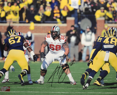 Taylor Decker Ohio State Buckeyes 16-6 16x20 Autographed Photo - Certified Authentic