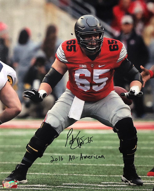 Pat Elflein Ohio State Buckeyes 16-2 16x20 Autographed Photo - Certified Authentic