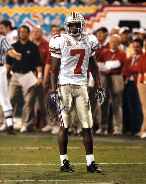 Chris Gamble Ohio State Buckeyes 16-1 16x20 Autographed Photo - Certified Authentic