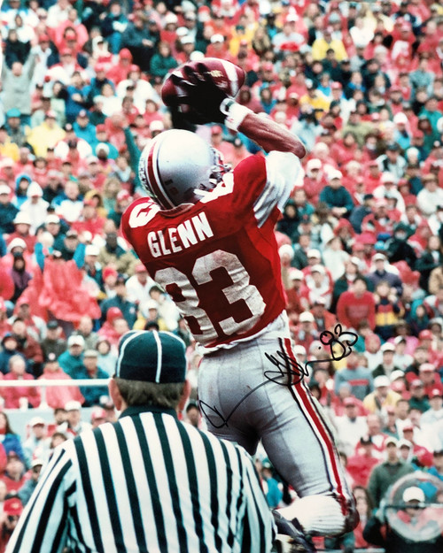 Terry Glenn Ohio State Buckeyes 16-3 16x20 Autographed Photo - Certified Authentic