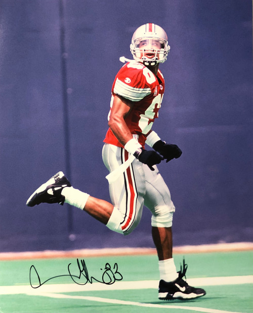 Terry Glenn Ohio State Buckeyes 16-6 16x20 Autographed Photo - Certified Authentic