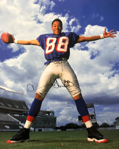 Terry Glenn New England Patriots 16-2 16x20 Autographed Photo - Certified Authentic