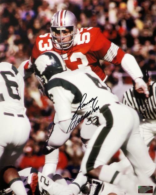 Randy Gradishar Ohio State Buckeyes 16-1 16x20 Autographed Photo - Certified Authentic