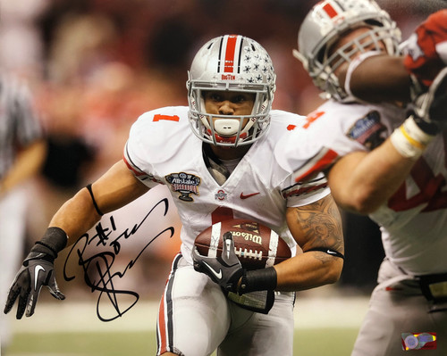 Boom Herron Ohio State Buckeyes 16-6 16x20 Autographed Photo - Certified Authentic