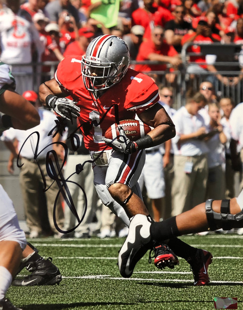 Boom Herron Ohio State Buckeyes 16-11 16x20 Autographed Photo - Certified Authentic