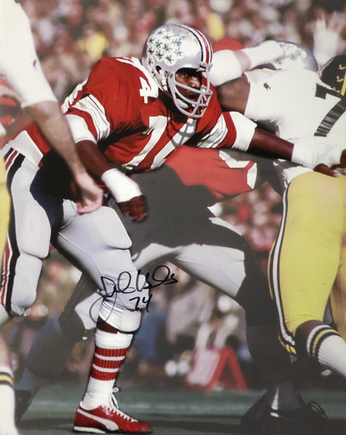 Jonathan Hicks Ohio State Buckeyes 16-1 16x20 Autographed Photo - Certified Authentic
