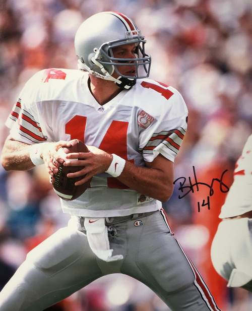 Bobby Hoying Ohio State Buckeyes 16-1 16x20 Autographed Photo - Certified Authentic