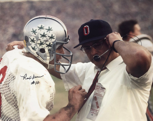 Rex Kern Ohio State Buckeyes 16-1 16x20 Autographed Photo - Certified Authentic