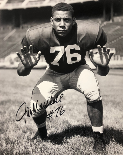 Jim Marshall Ohio State Buckeyes 16-2 16x20 Autographed Photo - Certified Authentic