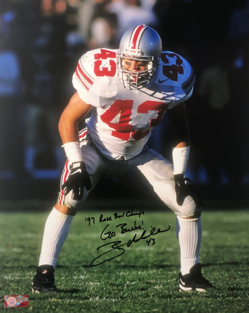 Ryan Miller Ohio State Buckeyes 16-1 16x20 Autographed Photo - Certified Authentic