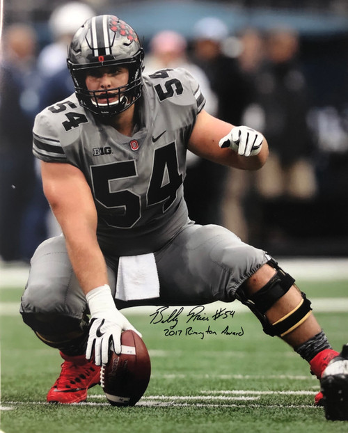 Billy Price Ohio State Buckeyes 16-8 16x20 Autographed Photo - Certified Authentic