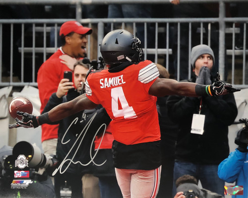 Curtis Samuel Ohio State Buckeyes 16-2 16x20 Autographed Photo - Certified Authentic