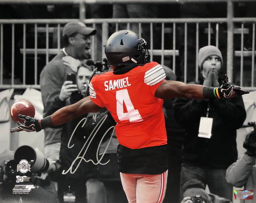 Curtis Samuel Ohio State Buckeyes 16-3 16x20 Autographed Photo - Certified Authentic