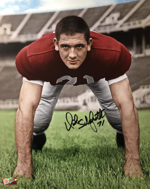Dick Schafrath Ohio State Buckeyes 16-1 16x20 Autographed Photo - Certified Authentic